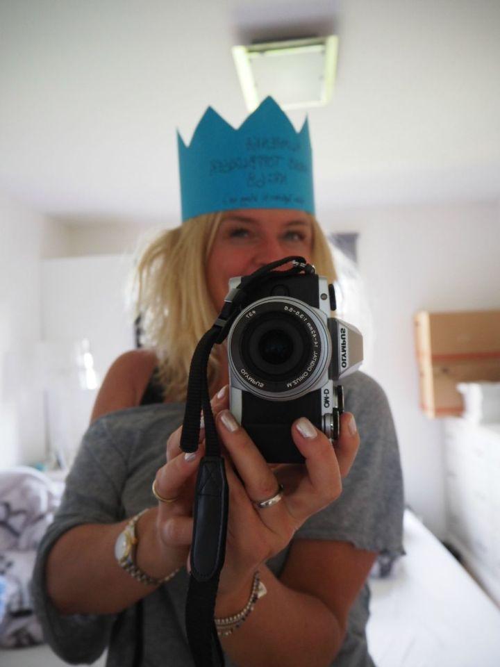 Ka som e galt med ei krona?