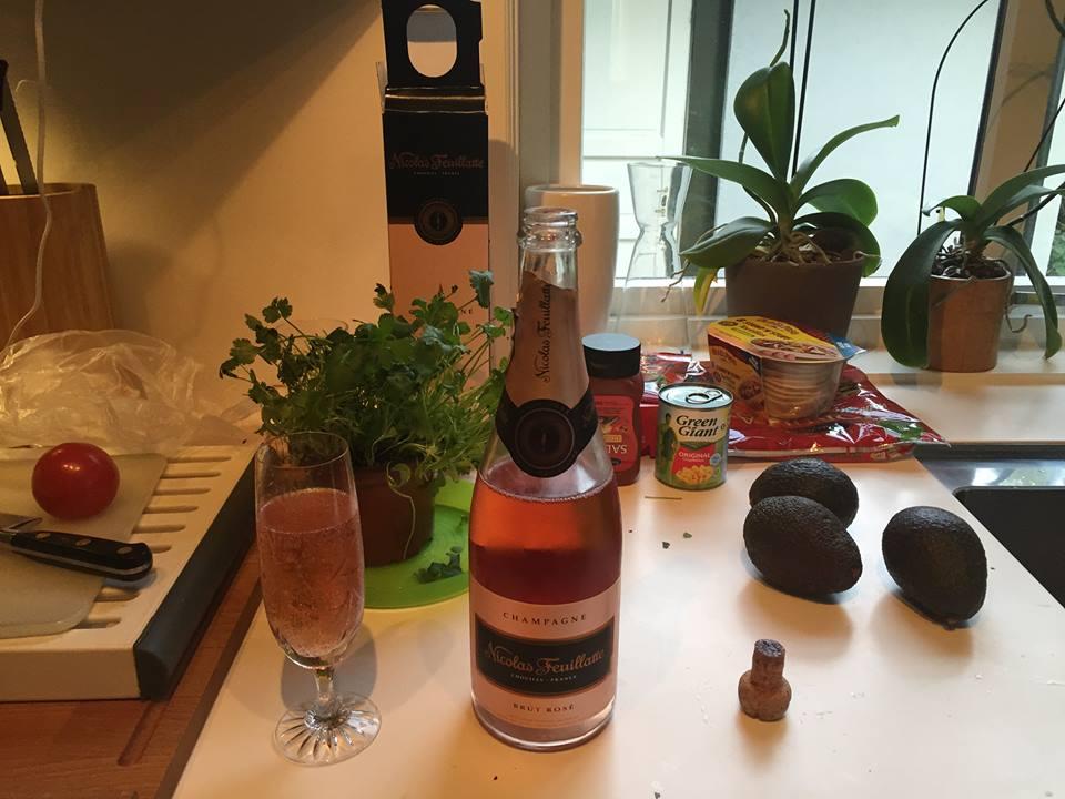 FN-dagen, champagnens dag og taco-fredag i skjønn forening :-)